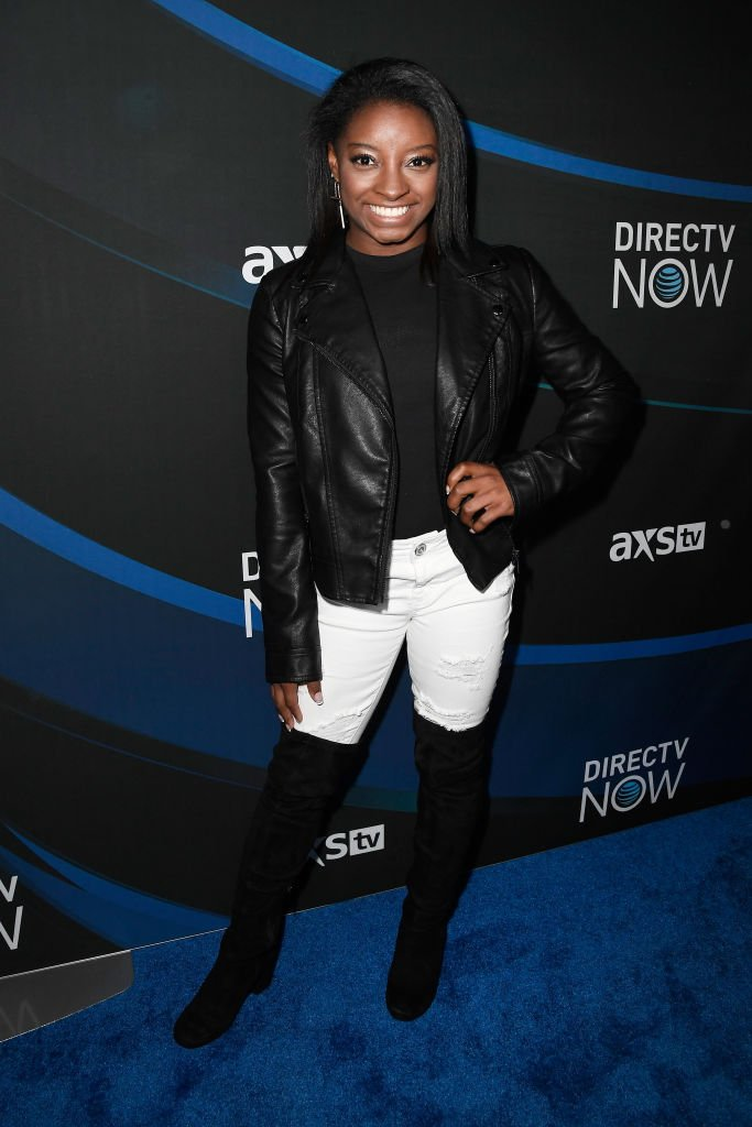 Simone Biles at the 2017 DIRECTV NOW Super Saturday Night Concert in Houston, Texas. | Photo: Getty Images