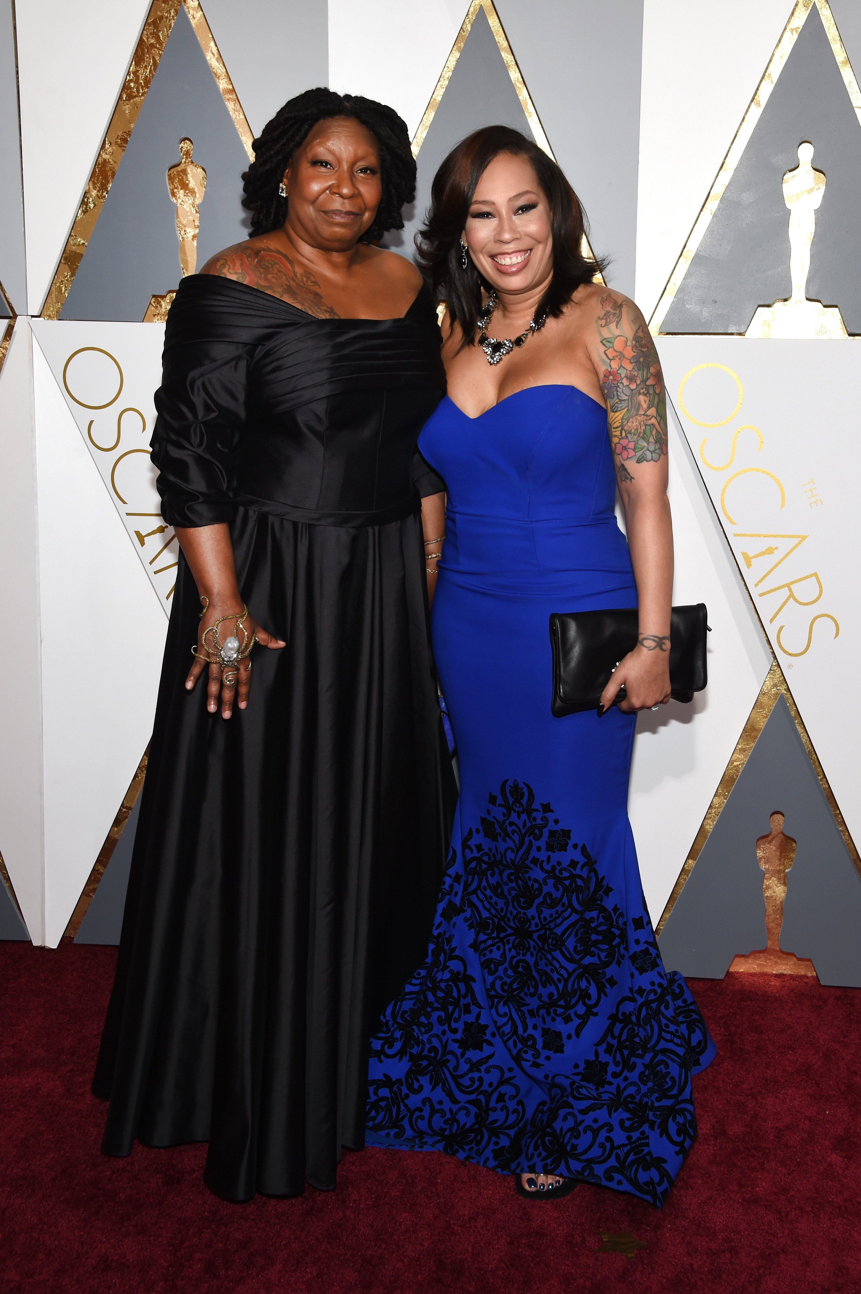 Whoopi Goldberg & Alex Martin at the 88th Annual Academy Awards in Hollywood on Feb. 28, 2016. |Photo: Getty Images