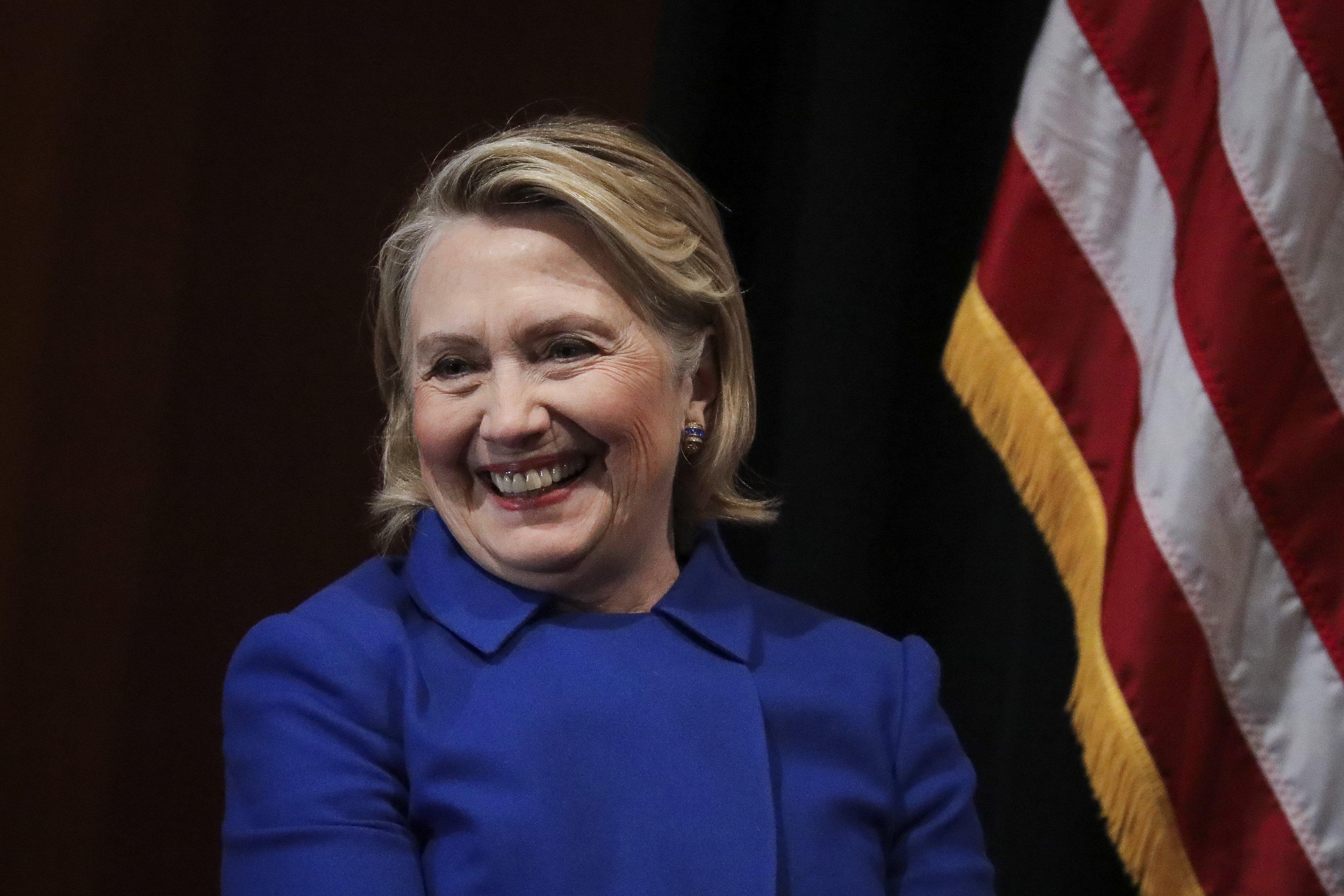 Hillary Clinton, una político y ex primera dama. | Photo: Getty Images