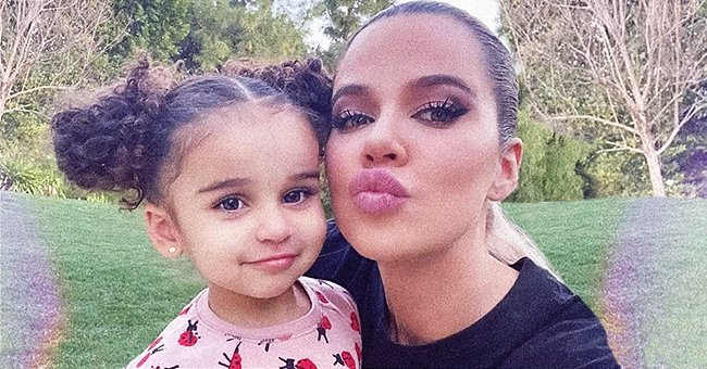 Khloé Kardashian from KUWTK Shares Cute Photo with Brother Rob's Daughter Dream