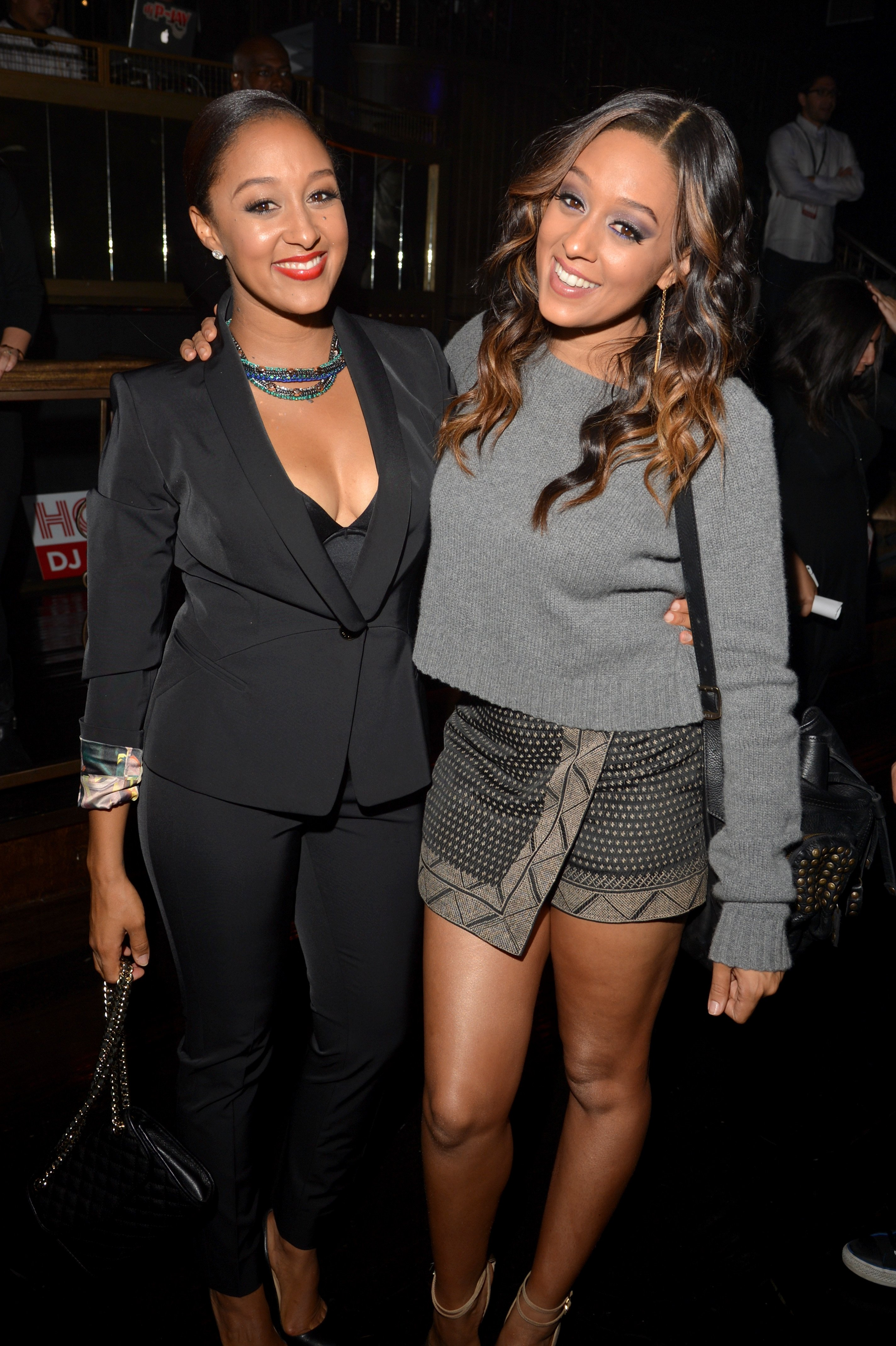 Tamera Mowry-Housley and Tia Mowry-Hardrict at the TV Guide Magazine's Hot List Party on November 4, 2013 l Source: Getty Images
