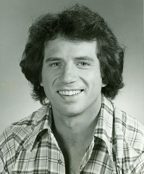 "Press photo for Tom Wopat in ""The Dukes of Hazzard"" in 1979. 