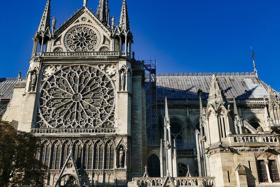 Catedral de Notre Dame. París, Francia. | Imagen: Pixabay