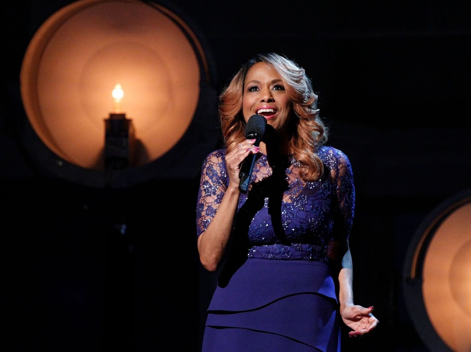 """Jennifer Holliday performing on """"The View"""" in January 2017 in New York 