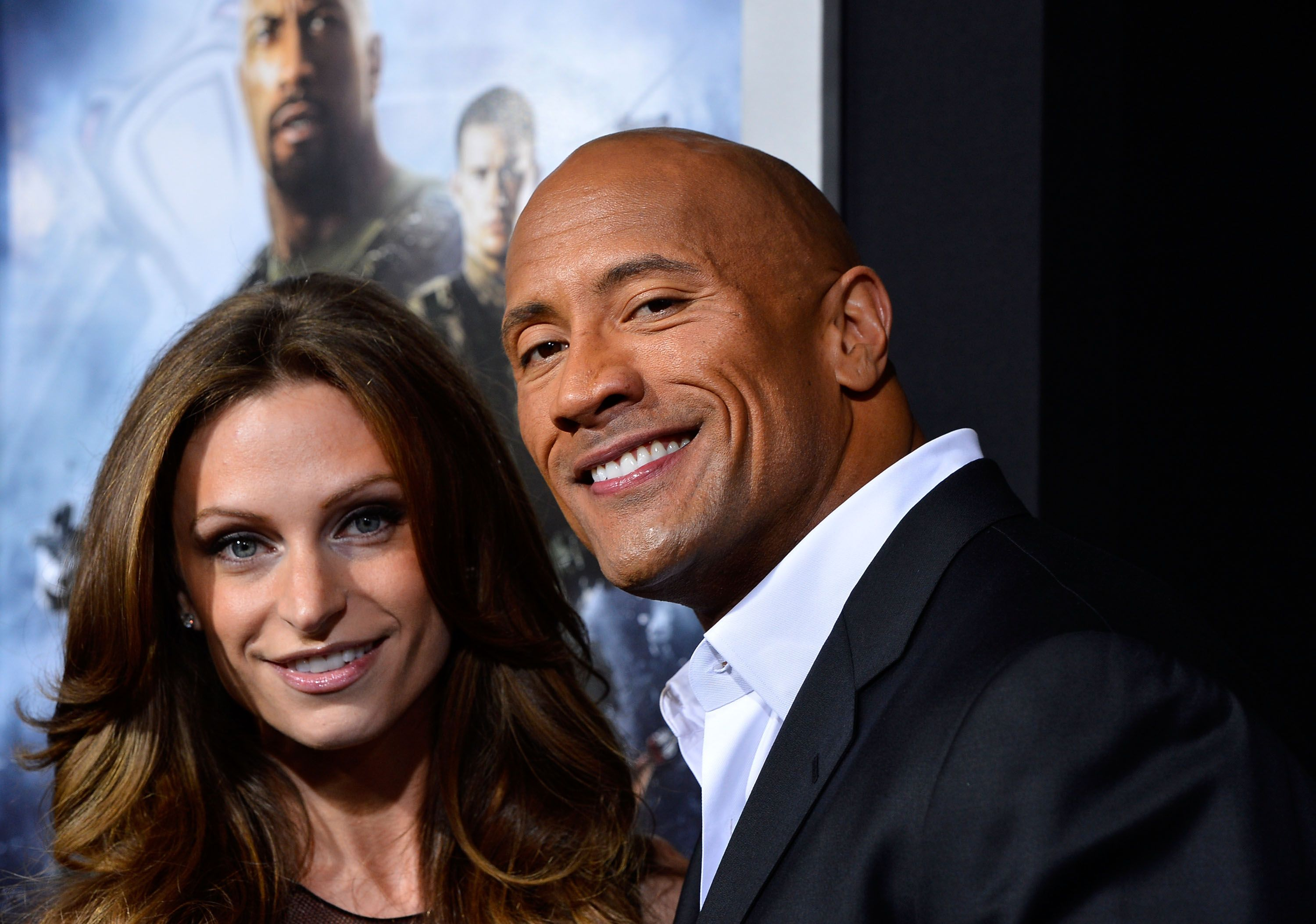 """Dwayne Johnson and Lauren Hashian at the Premiere of Paramount Pictures' """"G.I. Joe: Retaliation"""" at TCL Chinese Theatre on March 28, 2013 in Hollywood, California 