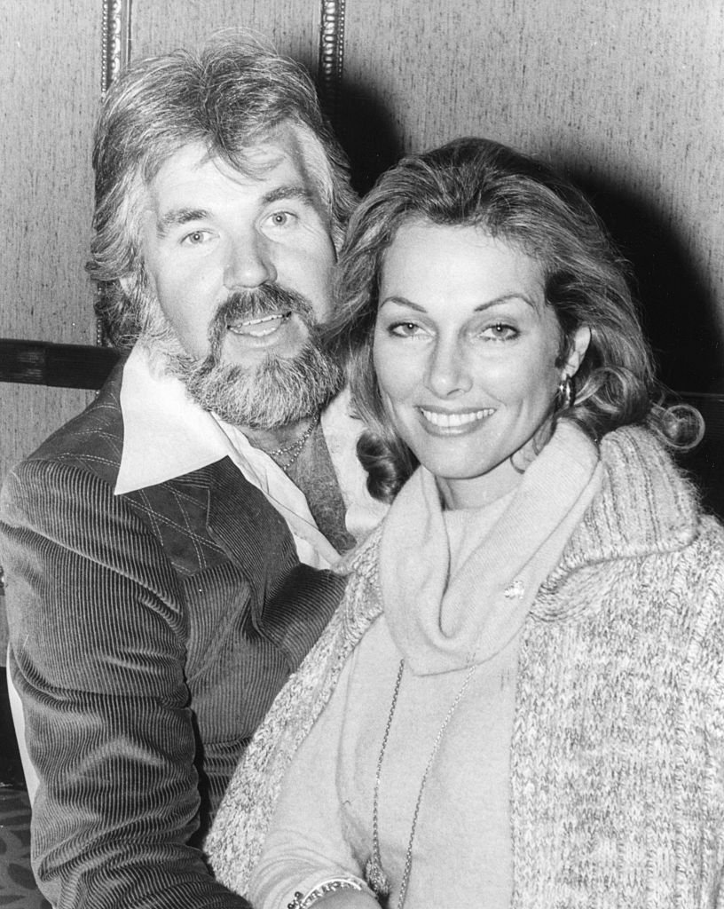 Portrait of singer Kenny Rogers and his wife, actress Marianne Gordon, prior to his concert tour around the country after arriving in Britain, November 7th 1977.   Source: Getty Images