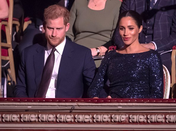 Prince Harry and Meghan attend the Cirque du Soleil Premiere Of 'TOTEM' at Royal Albert Hall on January 16, 2019 in London, England | Photo: Getty Images