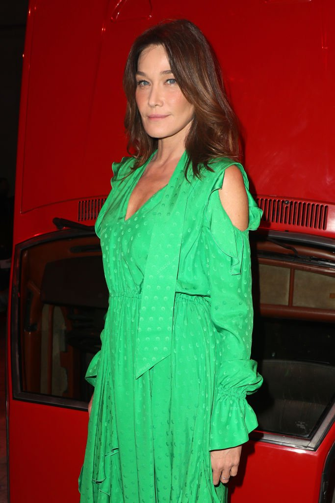 Carla Bruni, 27 février 2020, Paris. | Photo : Getty Images