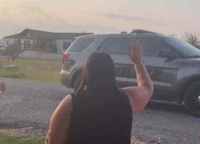 In the end, the couple got what they deserved.  They were arrested and the neighborhood could wave after them with relief.  I source: tiktok.com/jessicadykeee