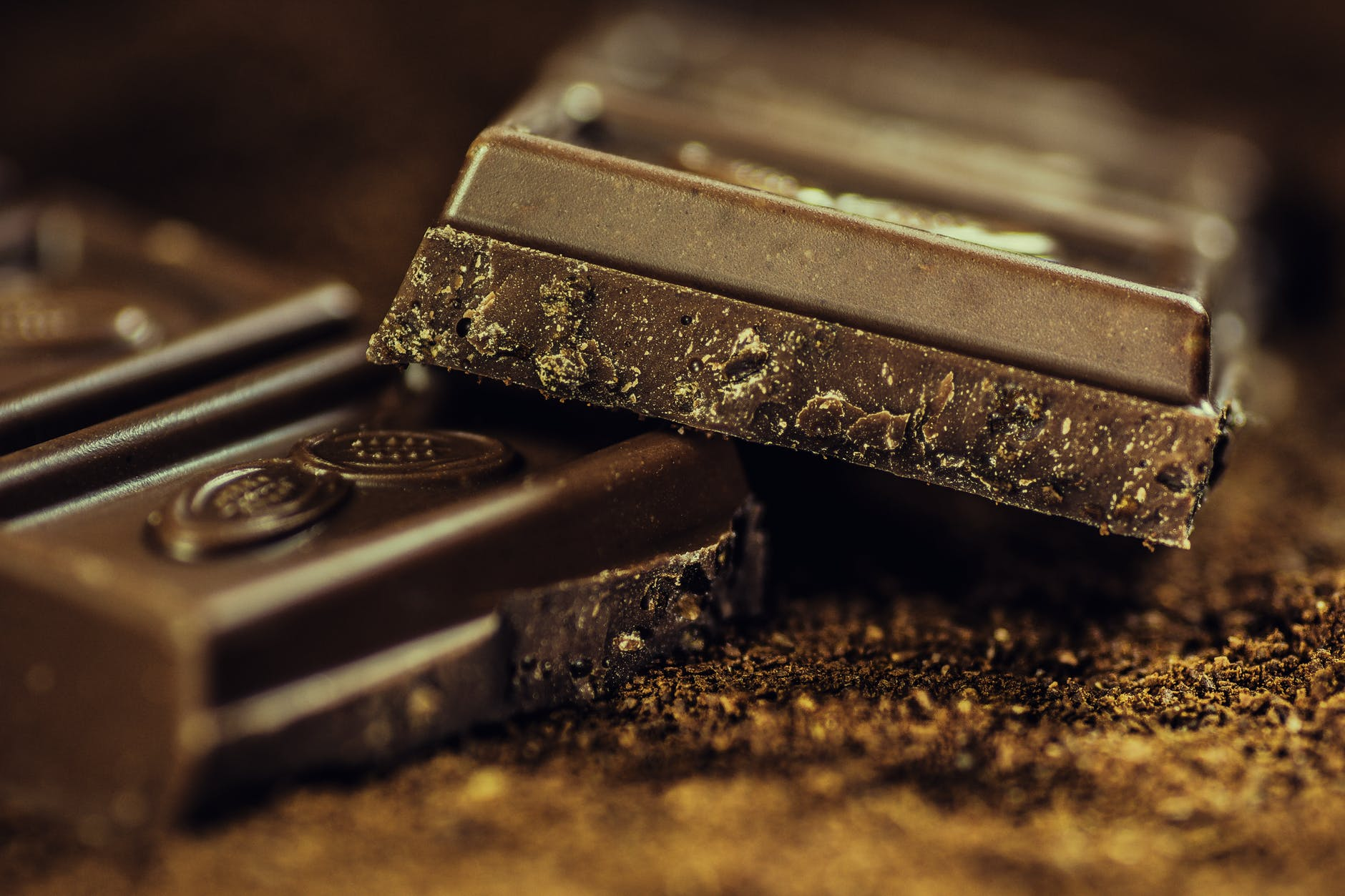Antioxidant, vitamin rich dark chocolate | Source: Pexels
