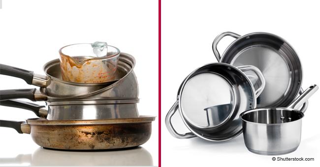 Voici comment enlever la graisse ancienne des ustensiles de cuisine rapidement et facilement