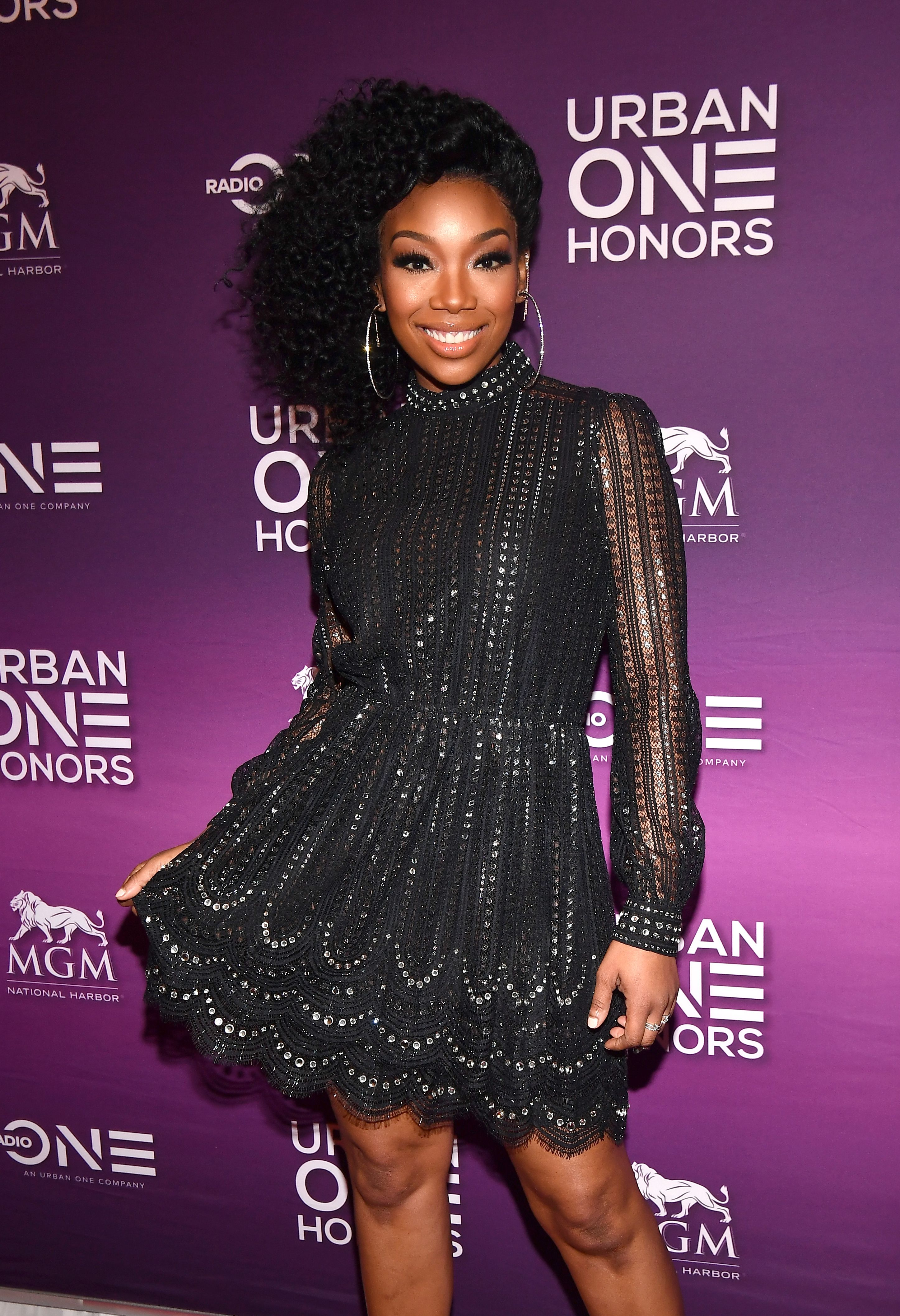 Brandy Norwood attends 2018 Urban One Honors at La Vie on December 9, 2018 in Washington, DC. | Source: Getty Images