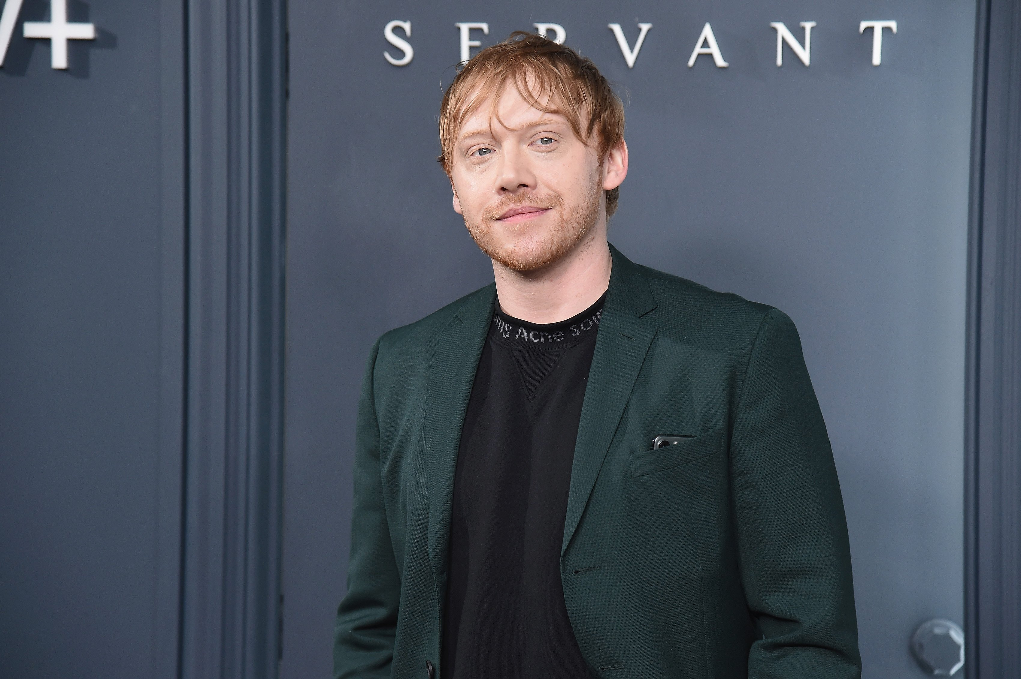 """Rupert Grint at Apple TV+'s """"Servant"""" World Premiere at BAM Howard Gilman Opera House in New York City 