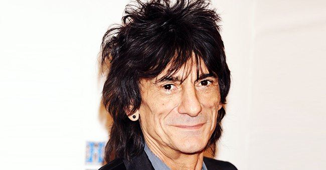 Rolling Stones Guitarist Ronnie Wood's Wife Shares Photo of Him with Their Twin Daughters