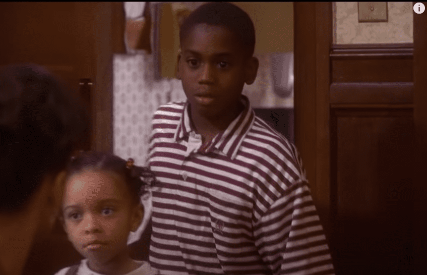 """A picture of Aaron Meeks as a child actor on """"Soul Food"""" 