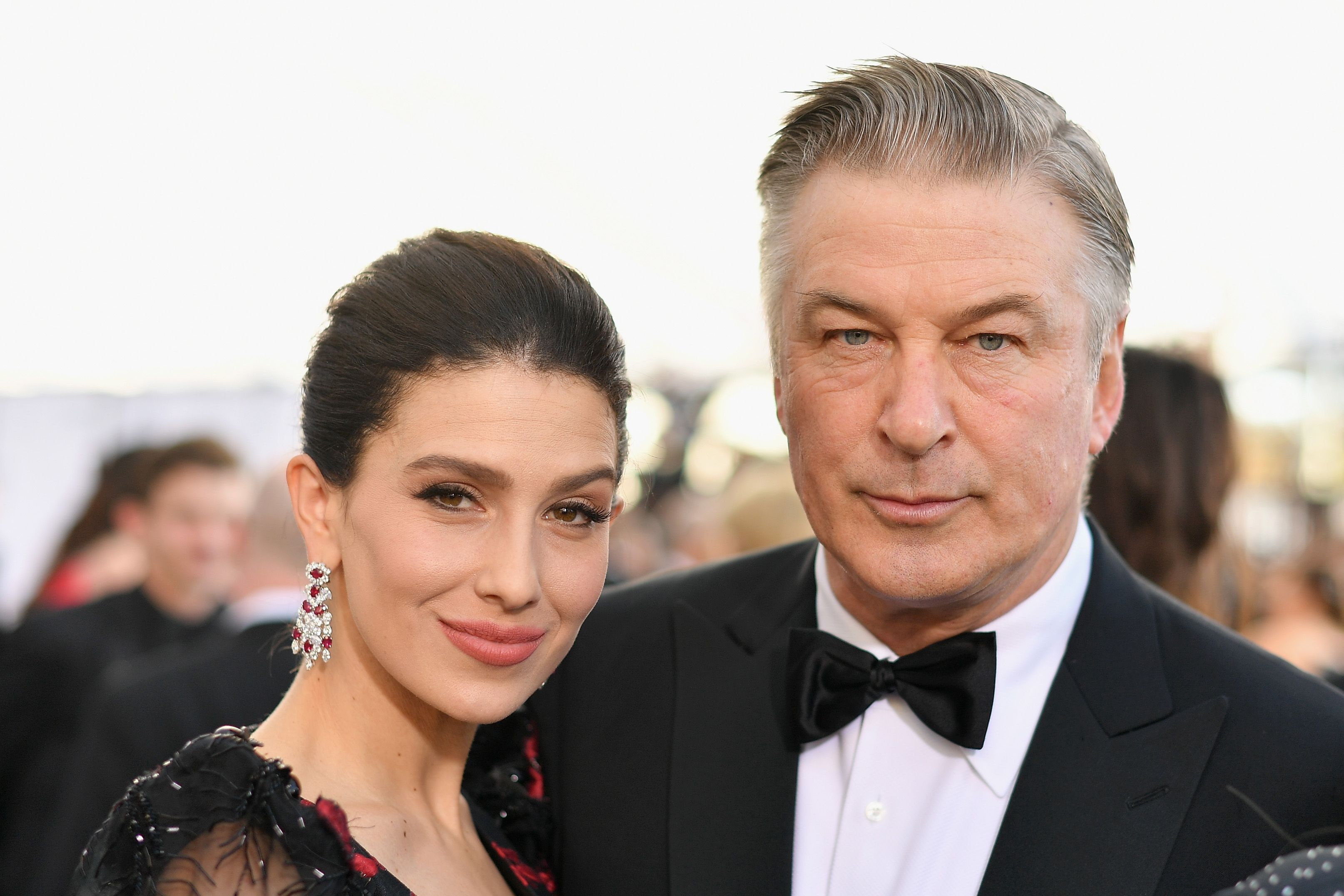 Hilaria and Alec Baldwin at the 25th Annual Screen ActorsGuild Awards in January 2019 in Los Angeles   Source: Getty Images