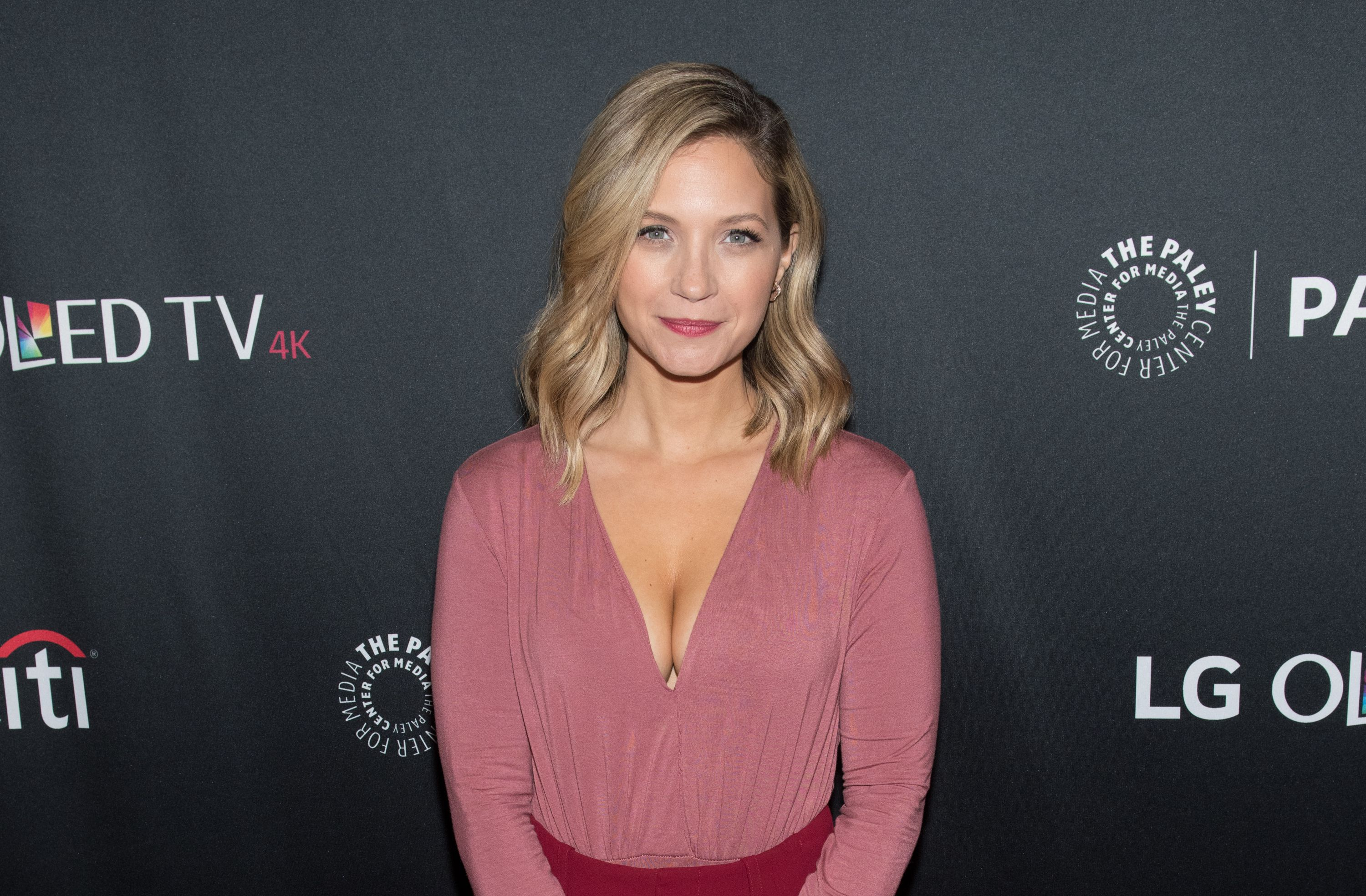 """Vanessa Ray at the """"Blue Bloods"""" screening during PaleyFest NY 2017 at The Paley Center for Media on October 16, 2017   Photo: Getty Images"""