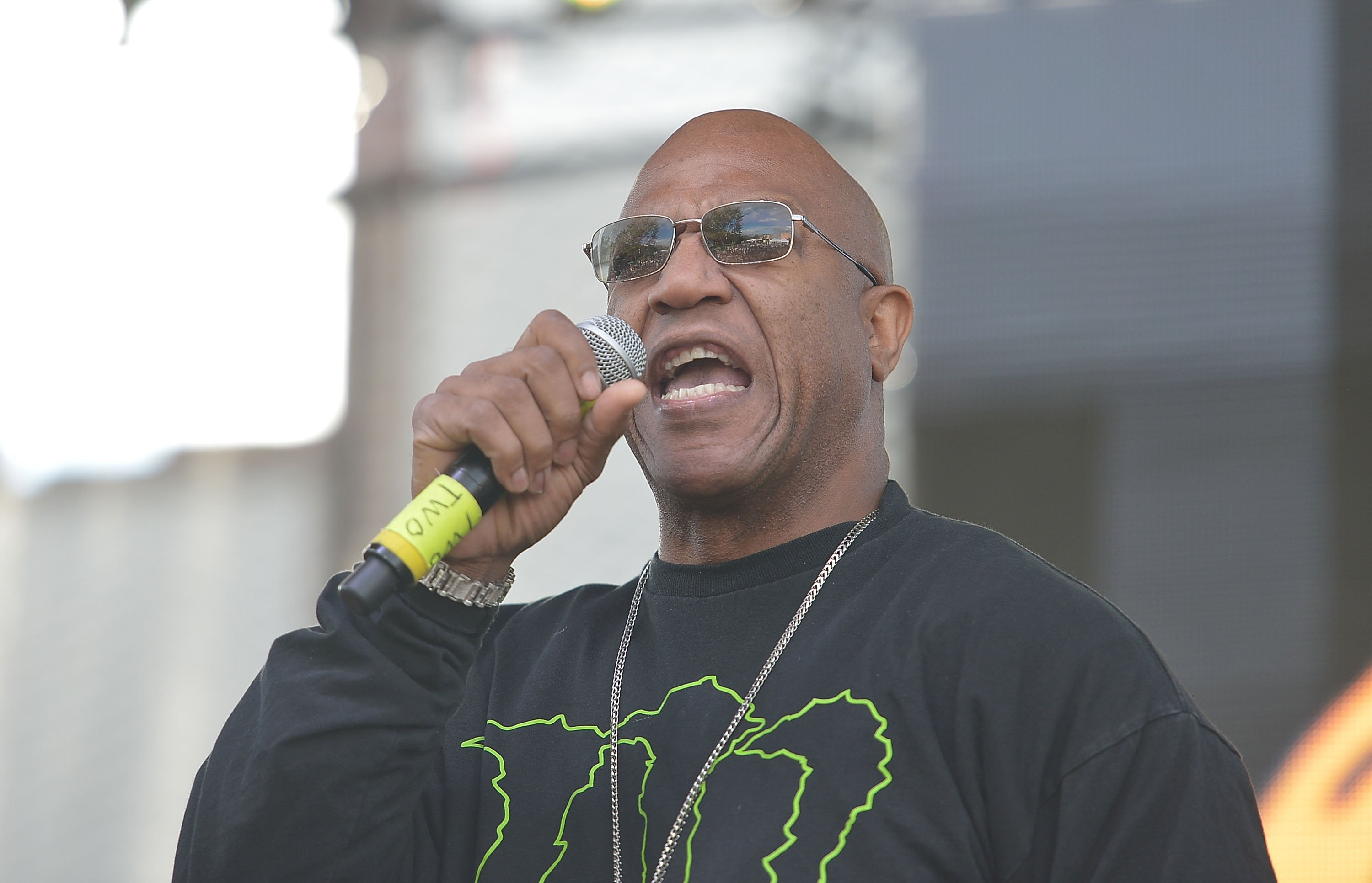 """Tommy """"Tiny"""" Lister onstage at the A3C Hip & Conference on October 11, 2015 in Atlanta, Georgia 