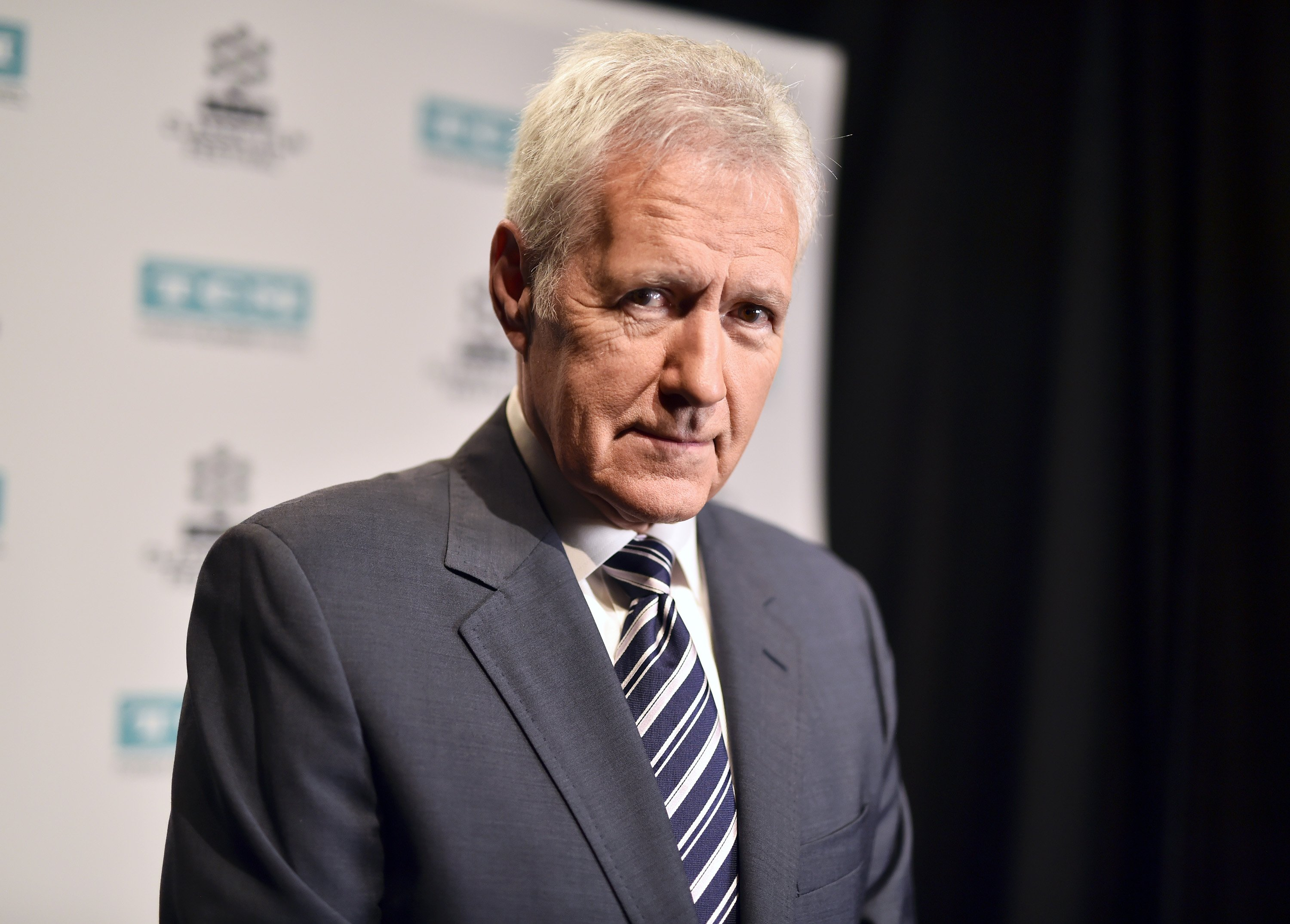 """Alex Trebek the host from """"Jeopardy!"""" 