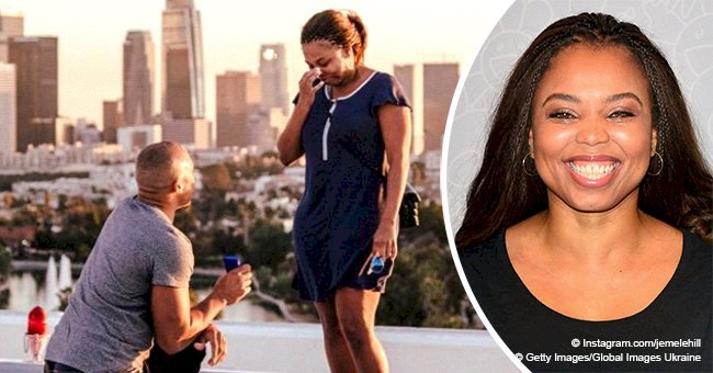 Former ESPN host, Jemele Hill gets engaged