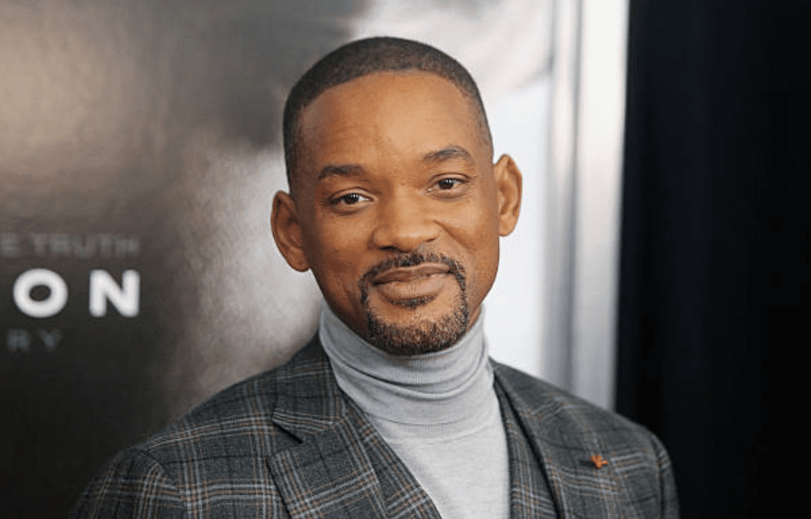 """Will Smith arrived on the red carpet for the premiere of """"Concussion"""" on December 16, 2015, New York City 