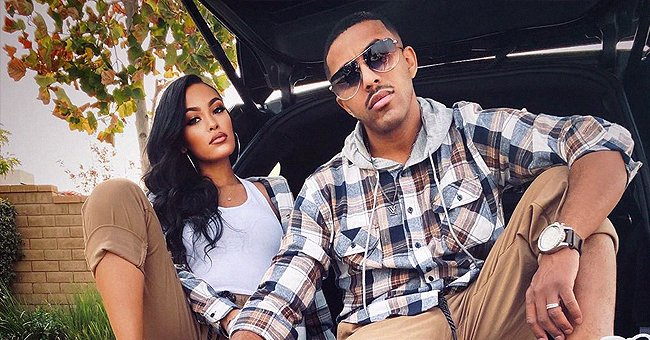 Marques Houston of 'Sister, Sister' Poses with His Gorgeous Wife Miya in Cool Twinning Outfits