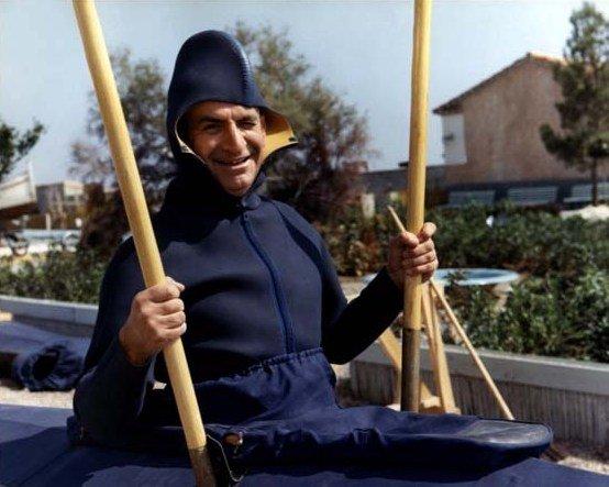 """Louis de Funès dans le film """"Le Petit Baigneur"""". l Source : Wikipedia"""
