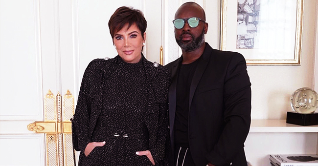 Kardashian Momager Kris Jenner Is Parisian Chic as She Attends Pfw 2019 with Corey Gamble