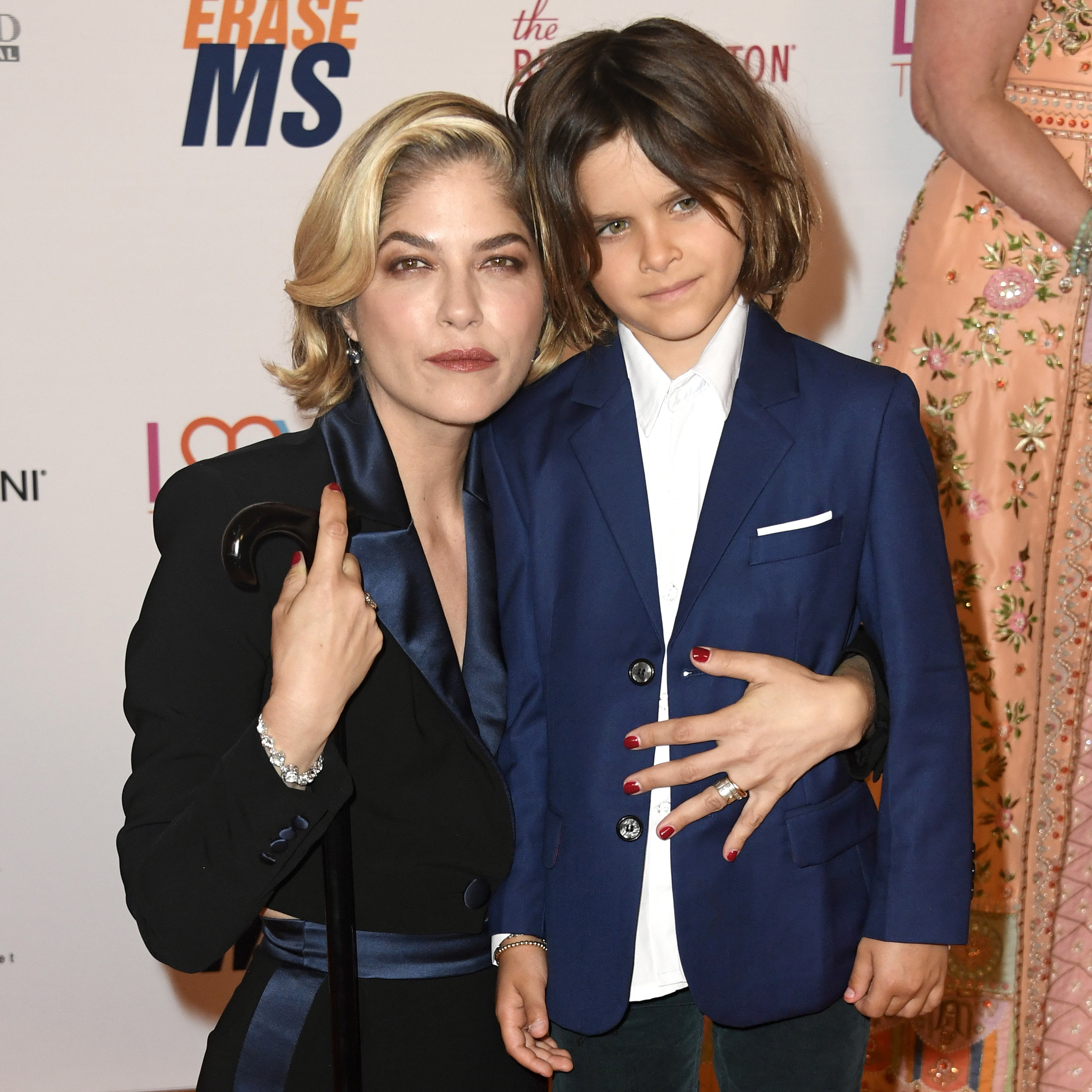 Honoree Selma Blair and Arthur Saint Bleick attend the 26th annual Race to Erase MS on May 10, 2019 in Beverly Hills, California.   Source: Getty Images