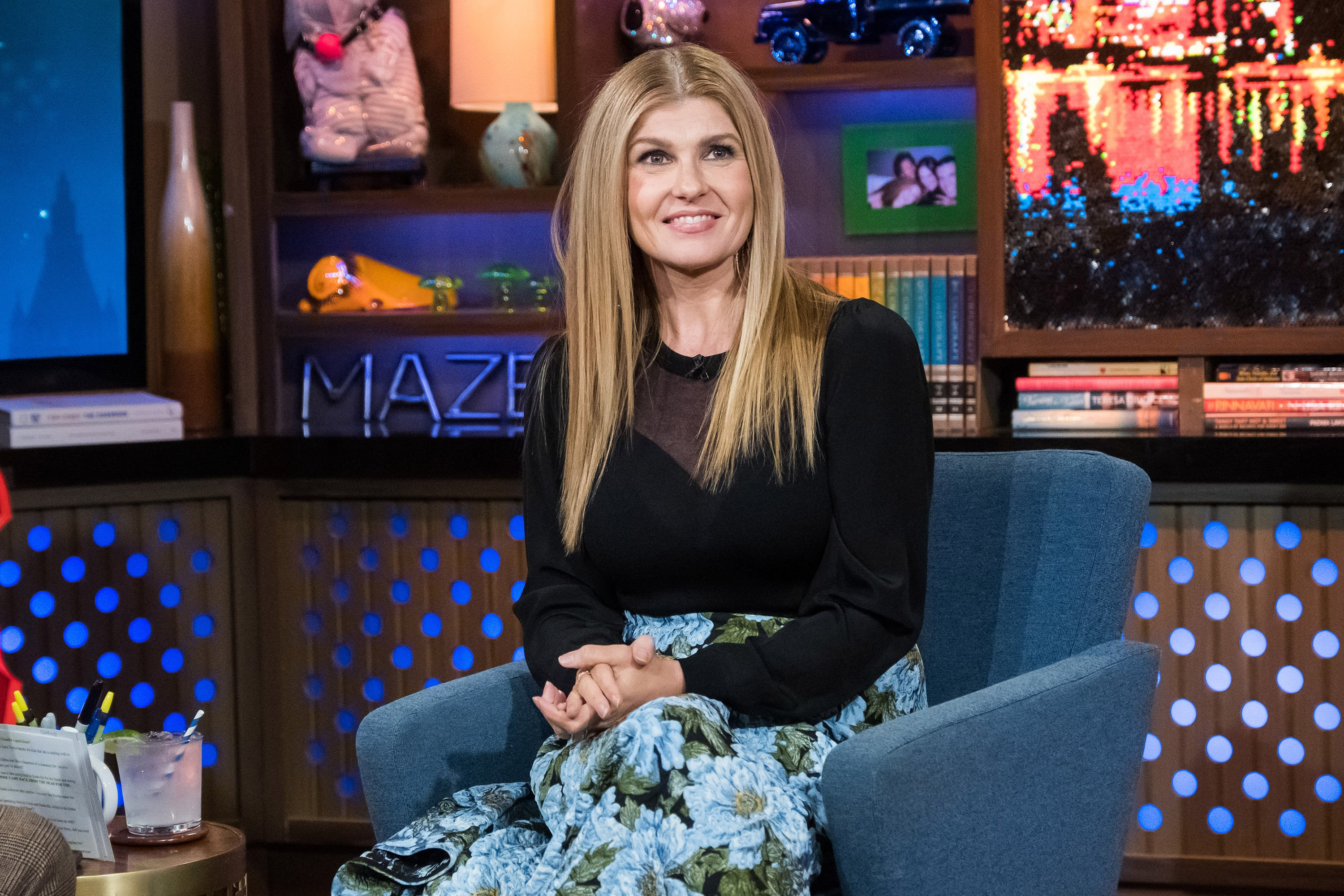 "Connie Britton appears on season 15 of ""Watch What Happens Live with Andy Cohen."" 
