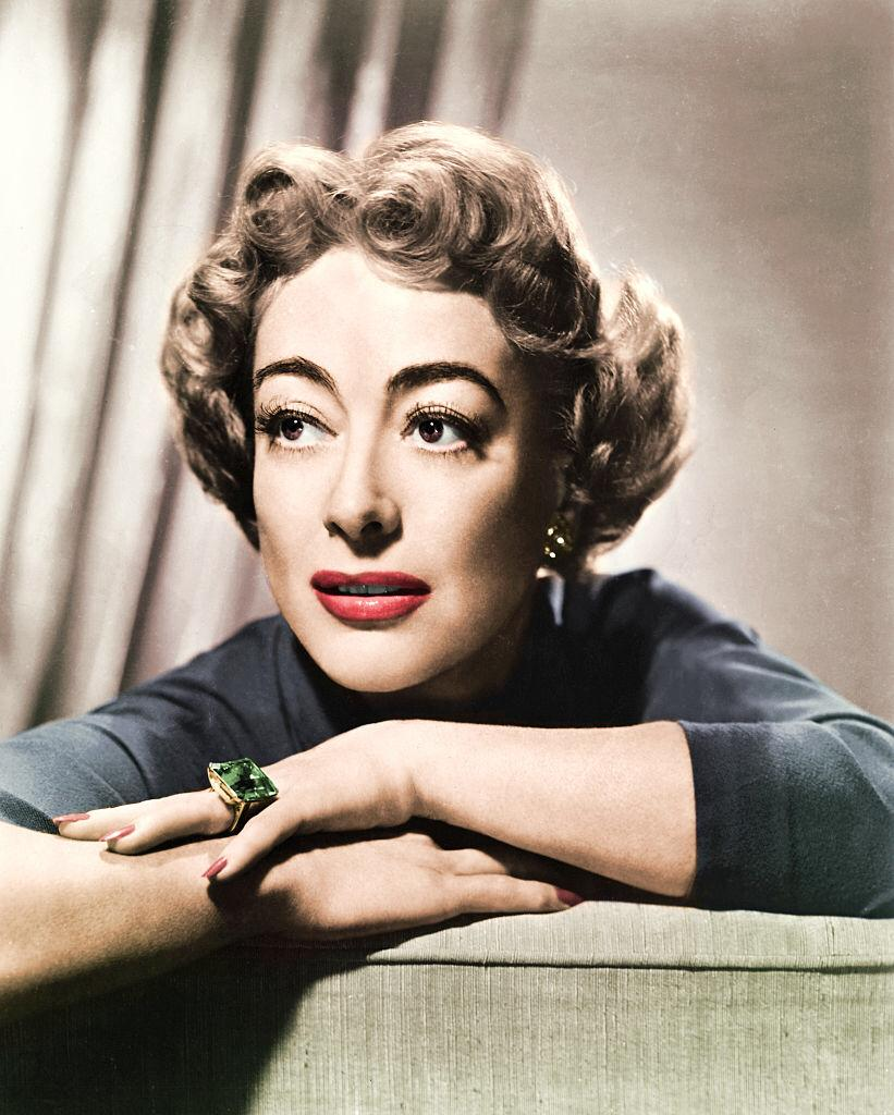 Portrait photo of Joan Crawford   Photo: Getty Images
