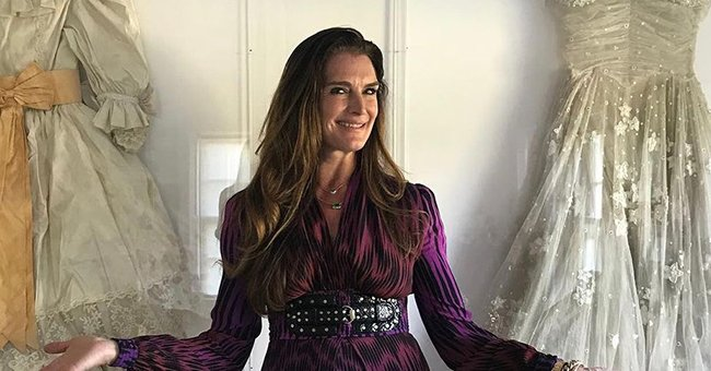 Brooke Shields Reveals How She Broke Her Femur & Says She Is Focused on Recovery