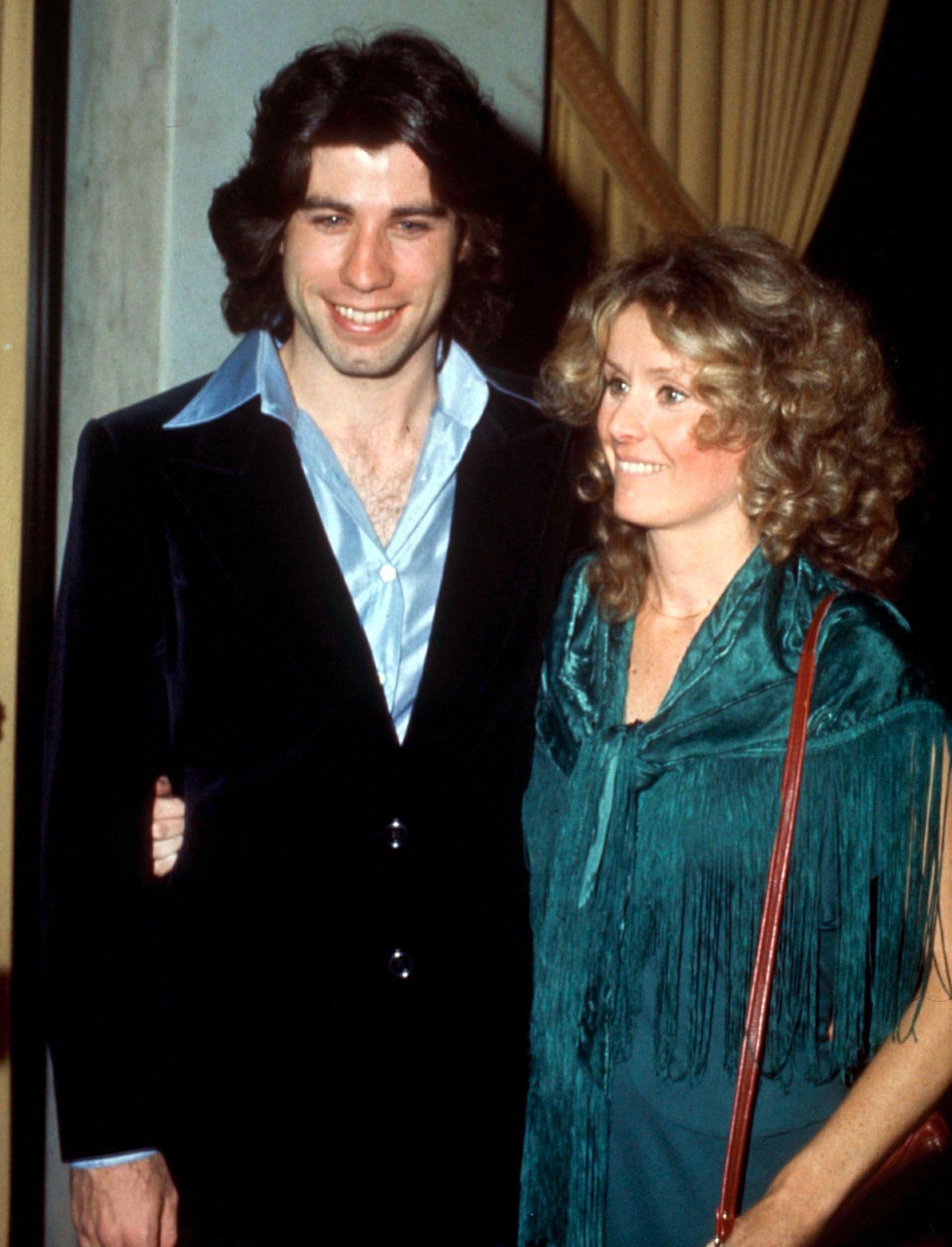 John Travolta y y Diana Hyland. | Foto: Shutterstock