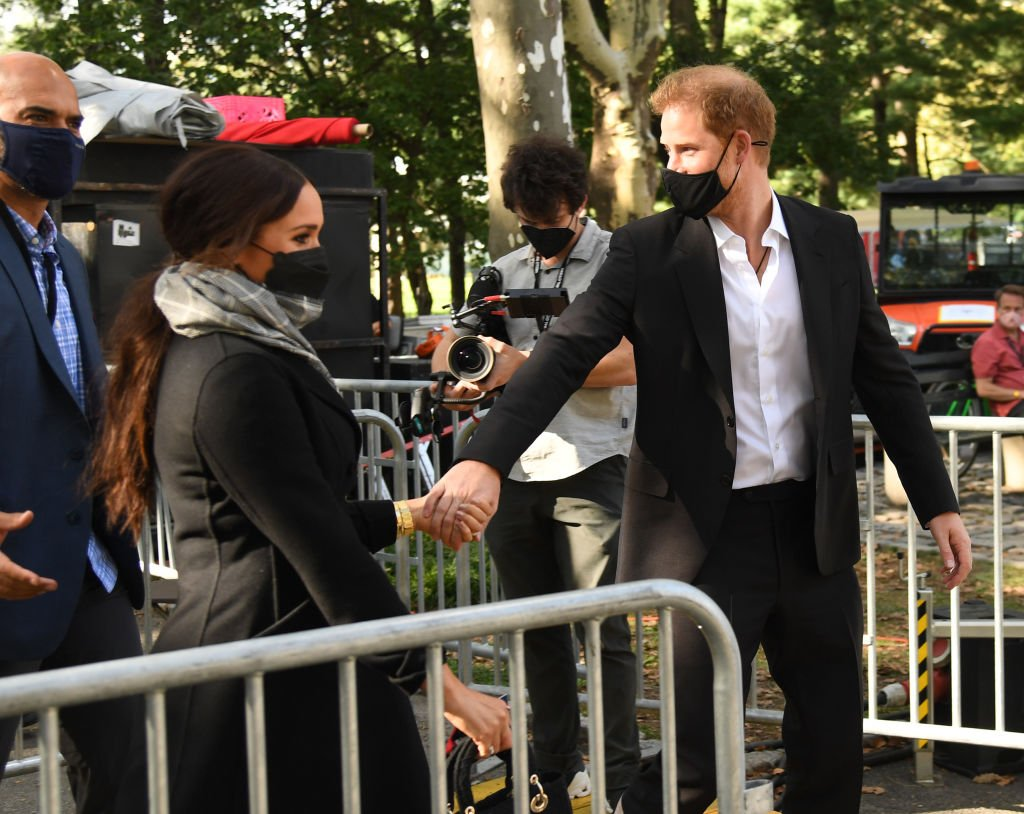 Meghan Markle and Prince Harry attend Global Citizen Live New York, September 2021 | Source: Getty Images