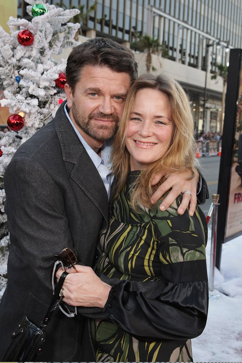 """John Michael Higgins and Margaret Welsh at the Premiere of Warner Bros. """"FRED CLAUS"""" in Los Angeles, California, in November 2007. 