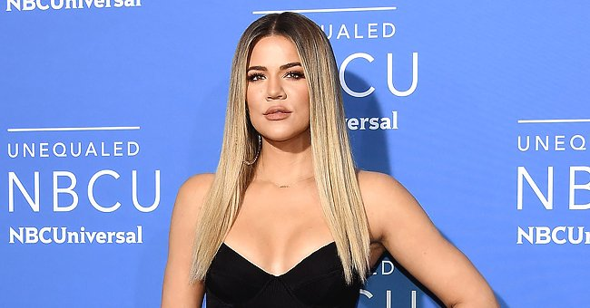 Khloé Kardashian Poses with Her Adorable Lookalike Daughter True Thompson in a Cute Outfit