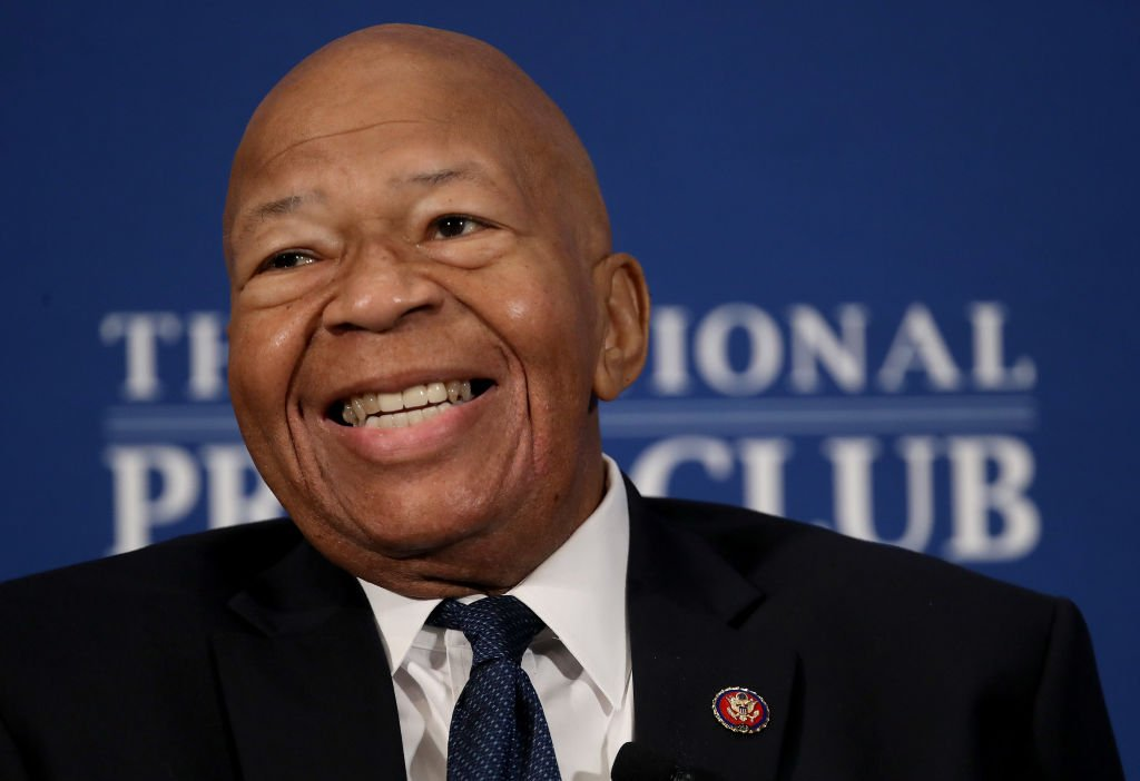 Rep. Elijah Cummings speaks at the National Press Club in Washington, DC. | Photo: Getty Images
