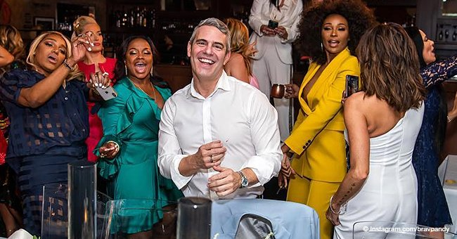 Andy Cohen and the 'RHOA' stars go wild at his baby shower