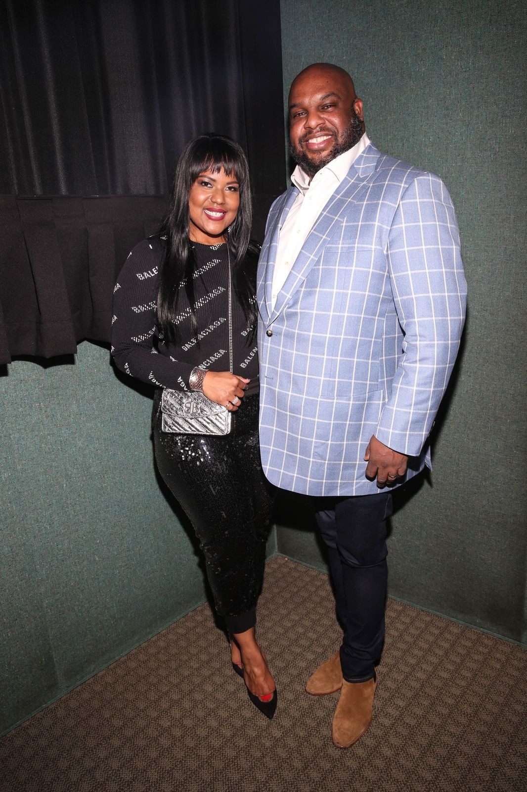 """Pastor John Gray and Aventer Gray at NAACP Image Awards' special screening of OWN's """"The Book Of John Gray"""" at Raleigh Studios on January 11, 2019 