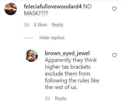 Fans' comments under a family picture posted by Shaunie O'Neal on her Instagram page | Photo: Instagram/shaunieoneal5