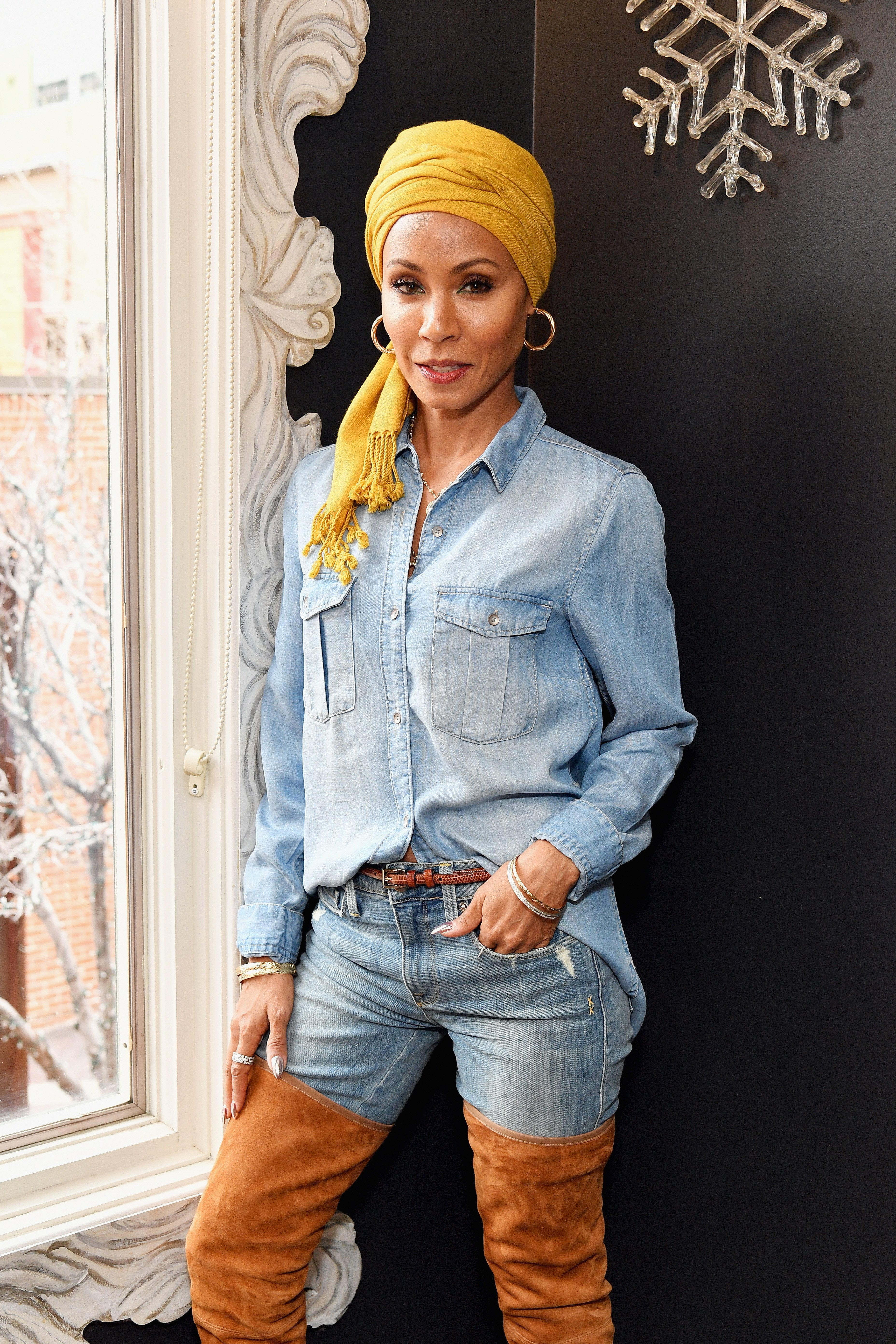 Actress Jada Pinkett Smith attends the Feature Film Jury Orientation Breakfast during the 2018 Sundance Film Festival at Cafe Terigo on January 19, 2018| Photo: Getty Images