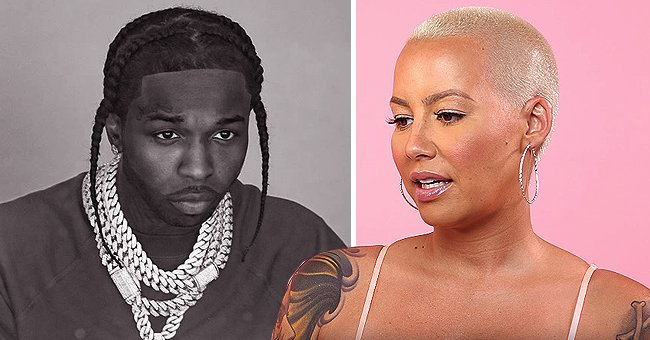 Amber Rose Pays Homage to Rapper Pop Smoke With Sweet Tribute After His Tragic Death