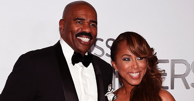 Steve Harvey's Wife Marjorie Shares Adorable Video of Grandson Ezra Playing the Piano
