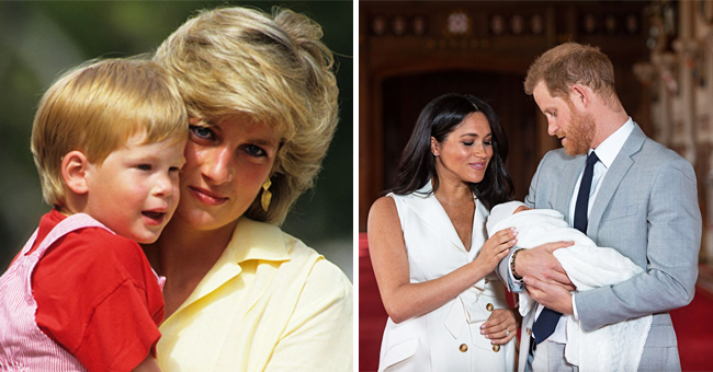Prince Harry Reportedly Feels 'a Gap' While Parenting Amid the Absence of His Mom, Princess Diana