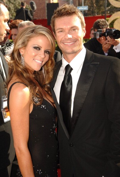 Ryan Seacrest and Shana Wall during 57th Annual Primetime Emmy Awards. | Photo: Getty Images