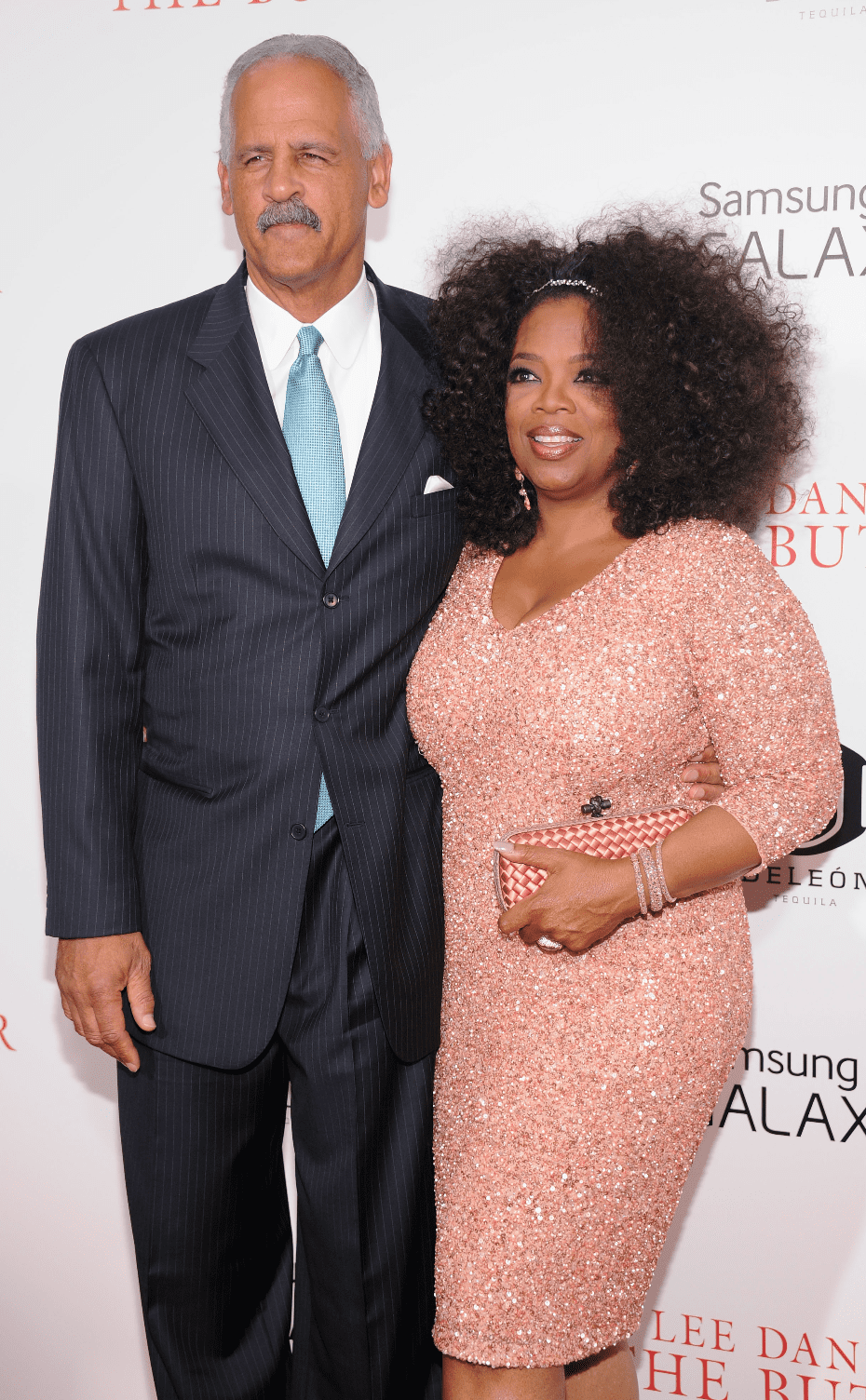 Stedman Graham and Oprah Winfrey. | Source: Getty Images