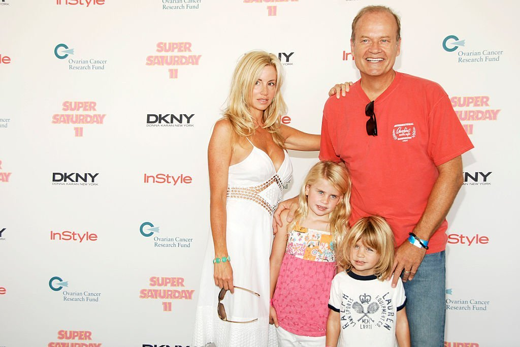 Camille Grammer, Kelsey Grammer and Children attend DONNA KARAN, InStyle Magazine at Nova's Ark Project on July 26, 2008. | Photo: Getty Images