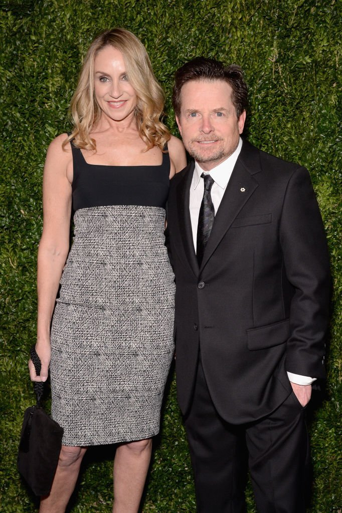 Tracy Pollan and Michael J. Fox attend The Museum of Modern Art Film Benefit. | Source: Getty Images