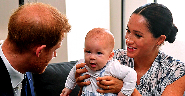 Meghan Markle Calls Baby Archie 'Old Soul' as He Meets Archbishop Tutu on South Africa Royal Tour