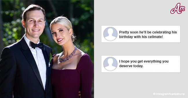 Viewers sure Ivanka Trump misspelled 'partner in crime' in her birthday tribute to her husband